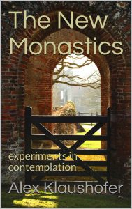 Photo of The New Monastics book - gate and view through an stone arch