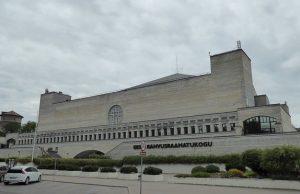 Facade of the National Library of Estonia
