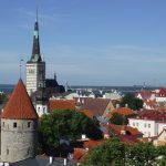 Rooftops of the old town of Tallinn